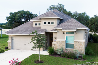 Boerne Single Family Home New: 109 Escondido