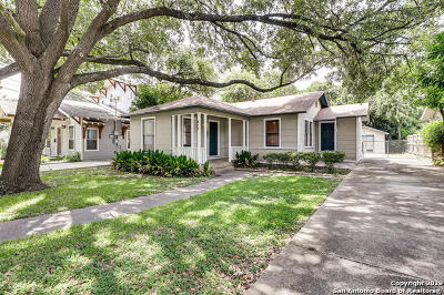 Alamo Heights Single Family Home Active Option: 217 Corona Ave
