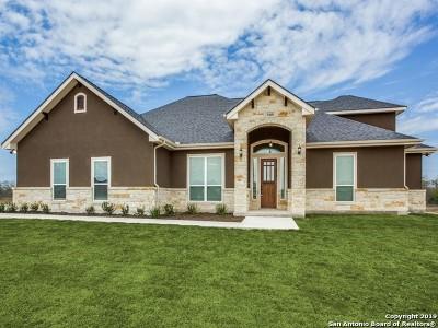 Blanco Single Family Home For Sale: 928 Jesse Stiff