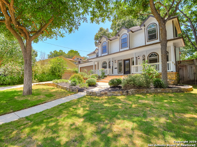 Alamo Heights Single Family Home For Sale: 628 Alamo Heights Blvd