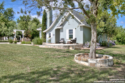 Guadalupe County Single Family Home Active Option: 196 Rogues Hollow