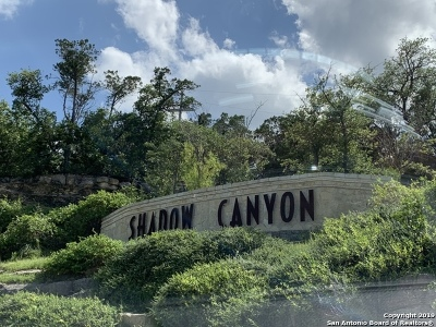Helotes Residential Lots & Land For Sale: 18244 Shadow Canyon Dr