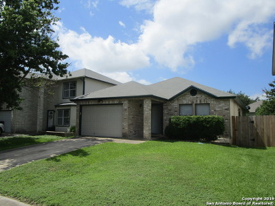 Converse Single Family Home Price Change: 6826 Celes Meadow Dr