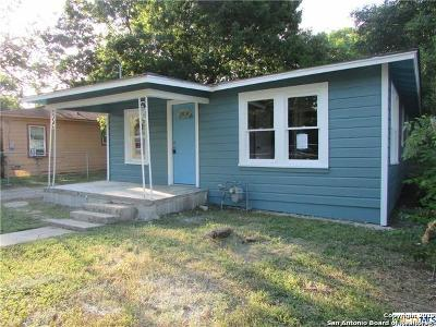 Seguin Single Family Home Back on Market: 518 Newton Ave