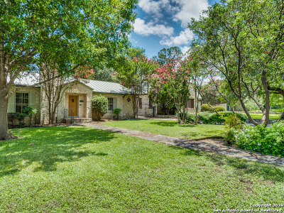 Olmos Park Single Family Home Active Option: 107 E Hermosa Dr
