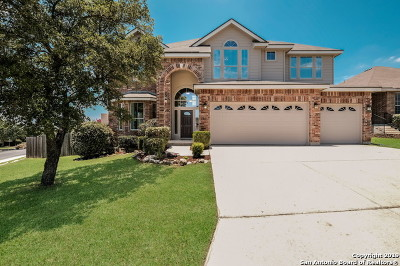 Stone Oak Single Family Home Active Option: 22307 Chimayo Bend