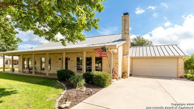 Kerrville Single Family Home New: 2908 Dry Hollow Dr