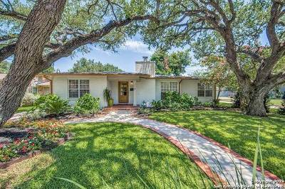Alamo Heights Single Family Home For Sale: 115 W Edgewood