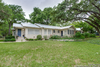 Alamo Heights Single Family Home New: 201 Castano Ave