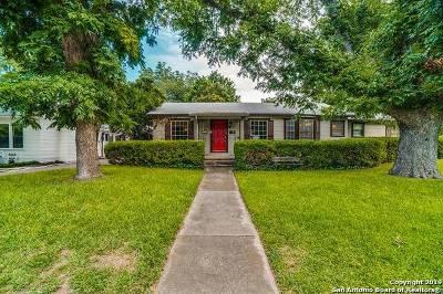 Alamo Heights TX Single Family Home Price Change: $374,000