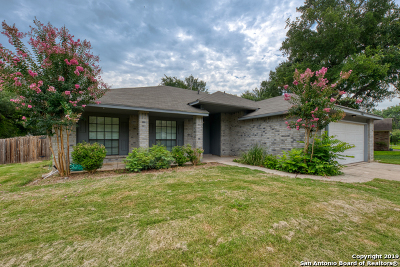 Schertz, Cibolo Single Family Home Active Option: 2408 Hidden Grove Ln
