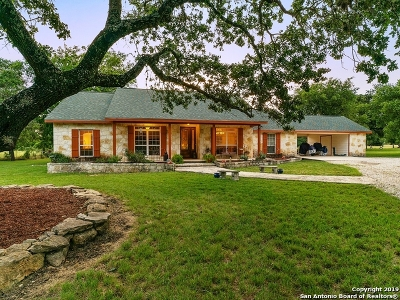 Bandera TX Single Family Home For Sale: $580,000