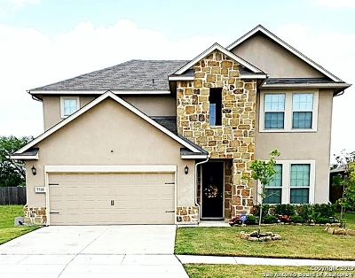 Converse Single Family Home New: 7750 Brigadier Pass