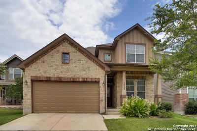Cibolo Single Family Home New: 208 White Trail