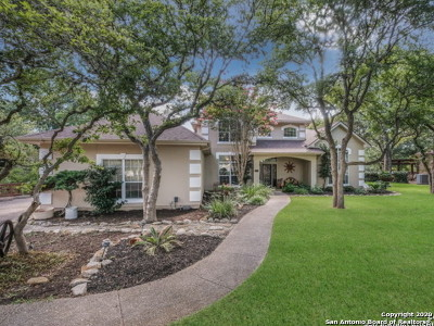 Fair Oaks Ranch Single Family Home For Sale: 8501 Raintree Woods