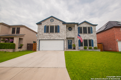 Converse Single Family Home New: 8035 Chestnut Manor Dr