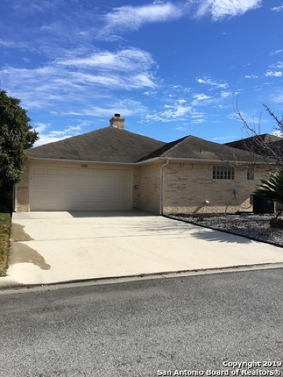 Seguin Single Family Home New: 650 Sagewood Pkwy
