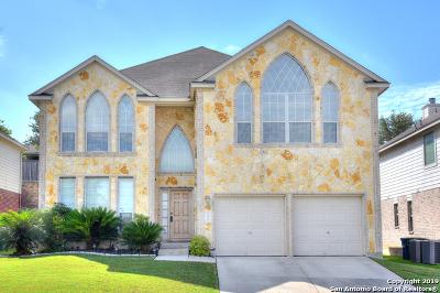 San Antonio Single Family Home Active Option: 21910 Dolomite Dr