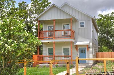 Single Family Home New: 1111 E Crockett St