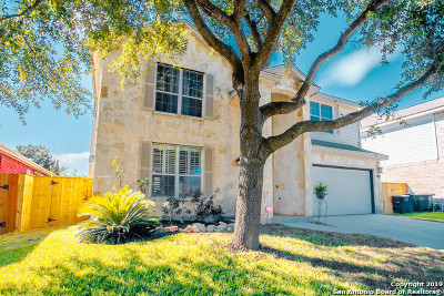 Helotes Single Family Home New: 8607 Feather Trail