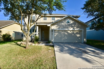 Cibolo Single Family Home Active Option: 123 Brook Meadows