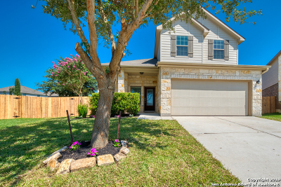 Cibolo Single Family Home New: 213 Bridle Bend