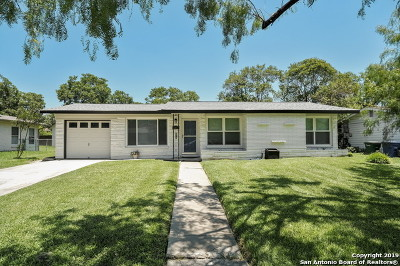 San Antonio Single Family Home Back on Market: 331 Barbara Dr