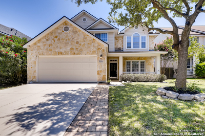 Stone Oak Single Family Home Active Option: 22814 Bengal Brook