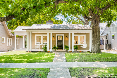San Antonio Single Family Home New: 222 Blue Bonnet Blvd
