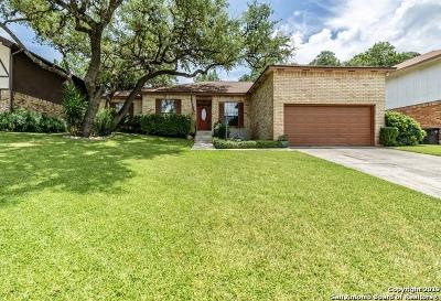 San Antonio Single Family Home Active Option: 7922 Creek Trail St