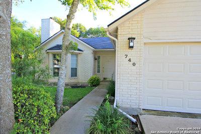 New Braunfels Single Family Home New: 740 Vista Pkwy