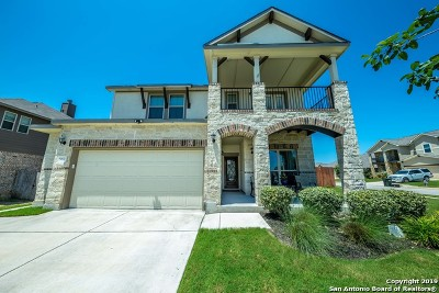 Cibolo Single Family Home New: 557 Saddle Vista