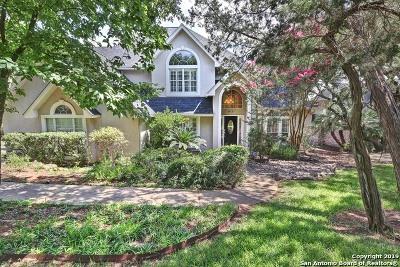 San Antonio Single Family Home New: 19822 Wittenburg