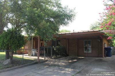 San Antonio Single Family Home Back on Market: 8626 Bravo Valley St