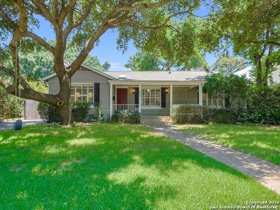 San Antonio Single Family Home New: 233 Calumet Pl