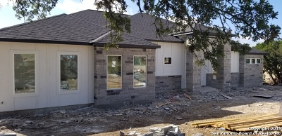 New Braunfels Single Family Home New: 1390 Merlot
