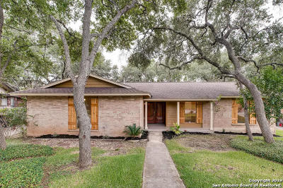 San Antonio Single Family Home New: 13607 Pebble Way