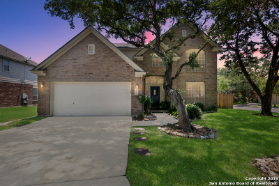 San Antonio Single Family Home New: 11210 Jade Hgts