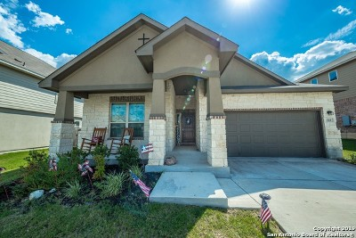 Cibolo Single Family Home New: 601 Saddle Villa