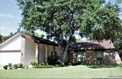 San Antonio Single Family Home New: 14613 Hook Dr