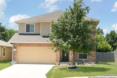 San Antonio Single Family Home New: 112 Quiet Elk
