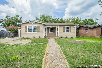 San Antonio Single Family Home New: 2707 W Mistletoe Ave