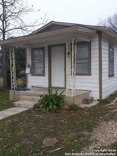 San Antonio Single Family Home For Sale: 2943 Pitluk Ave