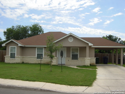 San Antonio Single Family Home New: 8942 Silver Bow Dr