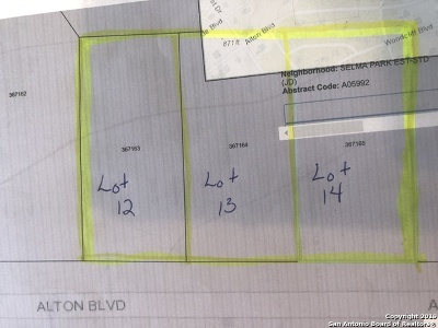 Selma Residential Lots & Land New: Alton Blvd