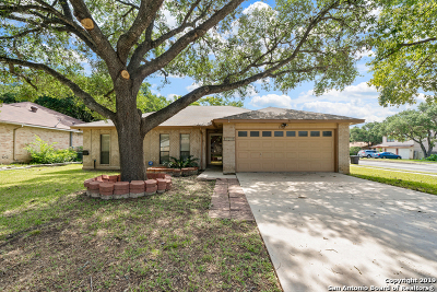 San Antonio Single Family Home New: 8502 Chimneyhill St
