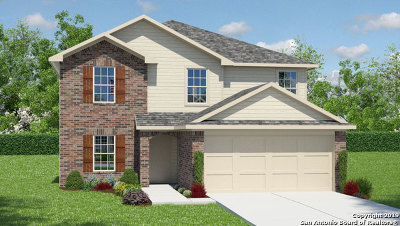 San Antonio Single Family Home New: 13307 Spike Rush