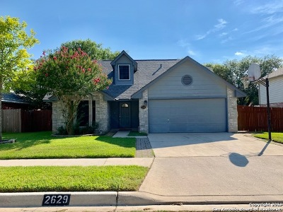 Schertz Single Family Home New: 2629 Poplar Grove Ln