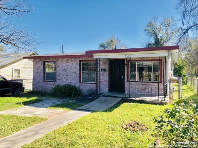 San Antonio Single Family Home New: 2434 McKinley Ave