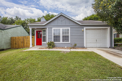 San Antonio Single Family Home New: 4005 Sun Harbour Dr